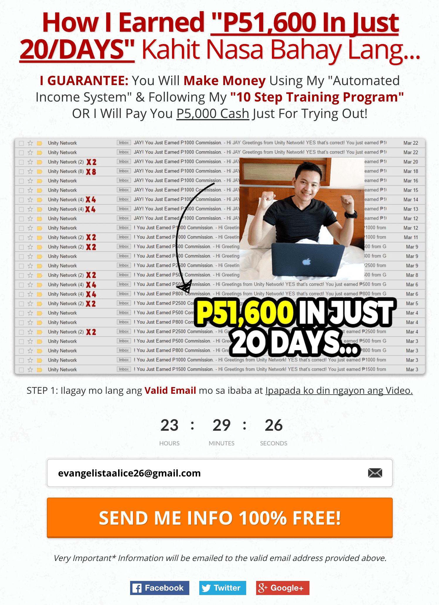 """How I Earned """"P51,600 In Just 20/DAYS"""""""