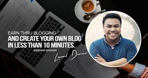 Earn Thru Blogging and Create Your Own Blog in less than 10 minutes