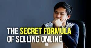 The Secret Formula of Selling Online