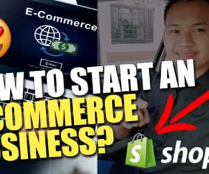how to start ecom business