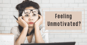 How To Be More Productive When You're Feeling Unmotivated